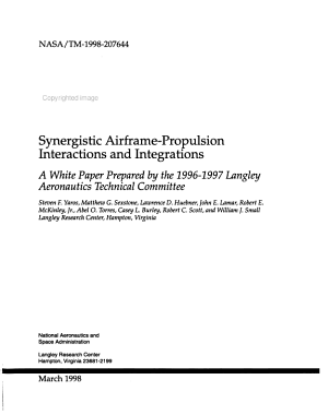 Synergistic Airframe propulsion Interactions and Integrations