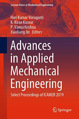 Advances in Applied Mechanical Engineering PDF