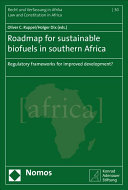 Roadmap for Sustainable Biofuels in Southern Africa