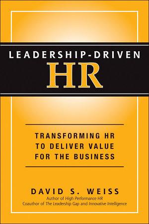 Leadership Driven HR PDF