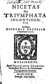 Nicetas: seu triumphata incontinentia