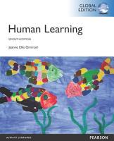 Human Learning  Global Edition PDF