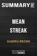 Summary of Mean Streak  Trivia Quiz for Fans Book