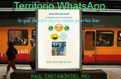 Territorio WhatsApp: Lo que de otra formar nunca podrías leer