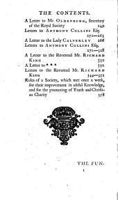 A Collection of Several Pieces of Mr. John Locke,: Never Before Printed, Or Not Extant in His Works