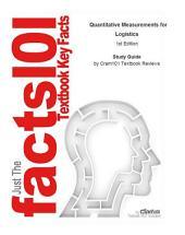 Quantitative Measurements for Logistics: Business, Management