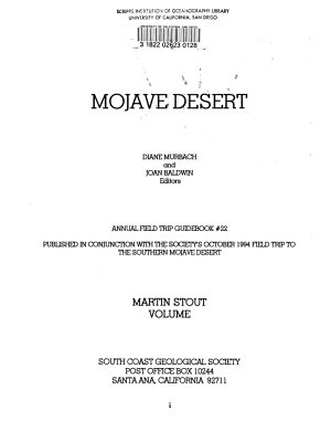 Mojave Desert PDF