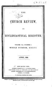 The Church Review: Volume 9