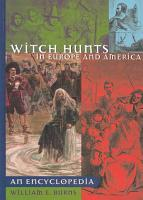 Witch Hunts in Europe and America PDF