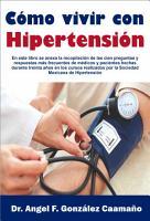 COMO VIVIR CON HIPERTENSION PDF