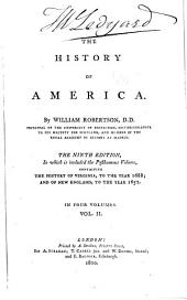The History of America: Volume 2