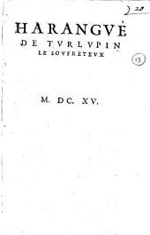 Harangue de Turlupin le Soufreteux: Numéro4