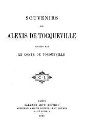 Souvenirs de Alexis de Tocqueville