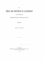 Sul Trias dei dintorni di Lagonegro in Basilicata: (piano carnico e piano juvavico di Mojsisovics).