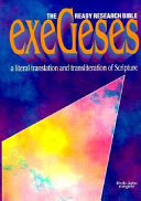 Exegeses Ready Research Bible PDF
