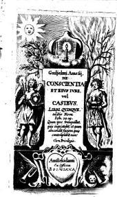 De conscientia: libri V.