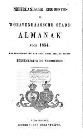 Nederlandsche residentie- en 's Gravenhaagsche stads-almanak voor ....: Volume 9
