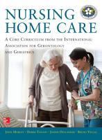 Nursing Home Care PDF