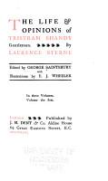 The life   opinions of Tristram Shandy  gentleman PDF
