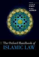 The Oxford Handbook of Islamic Law PDF