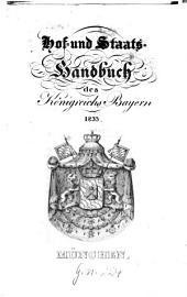 Hof- und Staatshandbuch des Königreichs Bayern: 1833