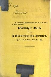 Schleswig-Holstein, Dänemark und Deutschland: kurze Darstellung ihres geschichtlichen Verhältnisses