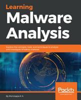 Learning Malware Analysis PDF