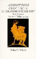 Griechische Literaturgeschichte PDF