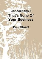 That s None Of Your Business PDF