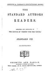 The Standard authors reader  arranged and annotated by the editor of  Poetry for the young   Standard iii  v vii PDF