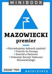 Mazowiecki [premier]. Minibook