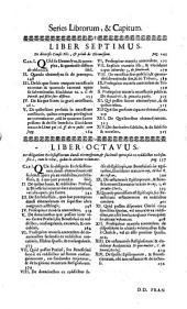 De causis piis in genere, et in specie: Opus Quidem Perutile Non Solum Judicibus & Visitatoribus Ecclesiasticis, verum etiam Secularibus, Ecclesiarum Rectoribus, Confessoribus, & Advocatis, Volume 2