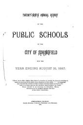 Annual Report of the Public Schools