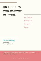 Hegel's Philosophy of Right: Subjectivity and Ethical Life
