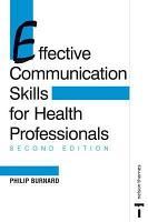 Effective Communication Skills for Health Professionals PDF