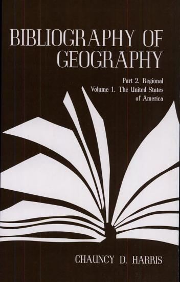 Bibliography of Geography PDF
