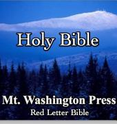 The Holy Bible: Red Letter Bible