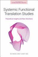 Systemic Functional Translation Studies
