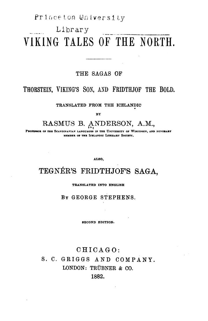 Viking Tales of the North
