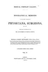Biographical Memoirs of the most celebrated Physicians, Surgeons