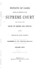 New Jersey Law Reports: Volume 53