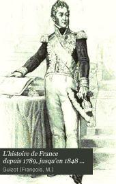 L'histoire de France depuis 1789 jusqu'en 1848: racontée à mes petits-enfants, Volume2