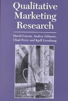 Qualitative Marketing Research PDF