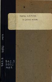 Le jaloux malade: comédie en un acte et en prose, mêlée de vaudevilles. Représentée pour la première fois sur le théâtre du Vaudeville, le 9 pluviôse an XIII.