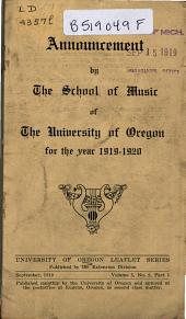Leaflet Series: Volume 5, Issue 2, Part 1