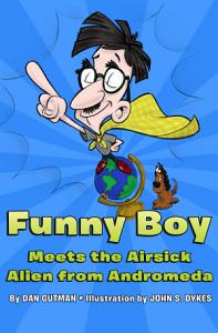 Funny Boy Meets the Airsick Alien from Andromeda Book