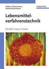 Lebensmittelverfahrenstechnik PDF