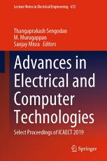 Advances in Electrical and Computer Technologies PDF