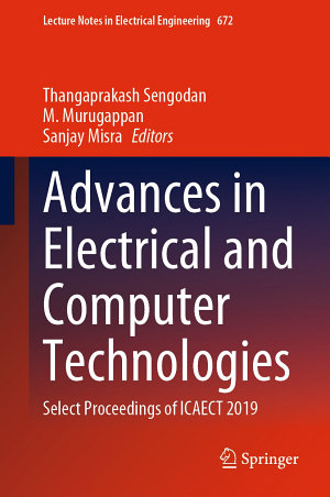 Advances in Electrical and Computer Technologies