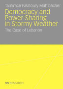 Democratisation and Power Sharing in Stormy Weather PDF